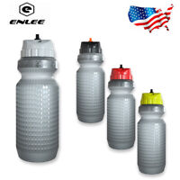 ENLEE BPA-free Plastic PP5 Water Bottle 22oz With Steaw Leakproof Outdoor Sports