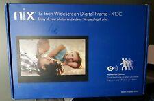 Nix 13 Inch FHD Widescreen Digital Photo & Video Frame - X13C