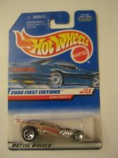 Hot Wheels 2000 First Editions Surf Crate Tall Card #073 (NIP) (017-8)