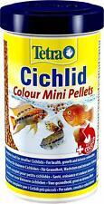 Tetra Cichlid Colour Mini Pellets 170g Complete Food for All Smaller Cichlids