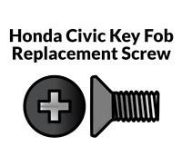 Key Fob Screw Replacement Kit for Honda Civic 2006-2013 Repair Screw Honda Civic