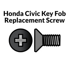 Key Fob Screw Replacement Kit for Honda Civic 2006-2013 Repair Screw Honda Civic