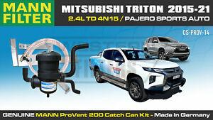 ProVent Catch Can Kit for Mitsubishi Triton 2015-21 MQ MR Pajero Sports 4N15