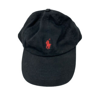 Polo Ralph Lauren Toddler 2T-4T Black Ball Cap Hat Adjustable Baseball