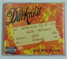 The Darkness One Way Ticket CD-Single UK 2005