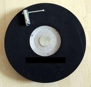 Schleifteller für Einscheibenmaschine SORMA A15 - A 16 - A 17 Parkettschleifen