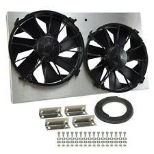 "Derale 34520 Aluminum Belt Fan Spacer 2/"" Length Clear Anodized"