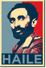 HAILE SELASSIE ART PHOTO PRINT (OBAMA HOPE PARODY) POSTER GIFT ETHIOPIA