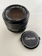 Canon FD 35mm F/2 S.S.C. SSC MF Wide Angle Lens Made In JAPAN Exc+++ Concaved