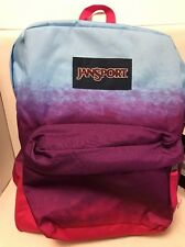 JANSPORT SUPERBREAK PURPLE NIGHT OMBRE BACKPACK # T50102C