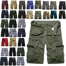 Mens Army Military Cargo Combat Shorts Summer Short Pants Casual Trousers Sports