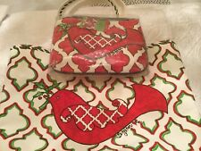 New Set Of 2 Brighton Christmas Love Dove Canvas Tote And Cross Body Pouch