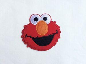 Oscar Sesame Street Elmo Puppet Kid Patch Iron on Applique T shirt Jacket Cap