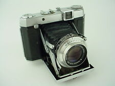 Certo Six German folding 6x6 medium format Rangefinder camera w/ 80/2.8 Tessar