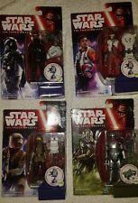 4x Star Wars Force Awakens Figures Captain Phasma Poe Dameron New & Sealed