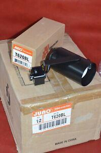 (12) JUNO T620BL TRAC MASTER Adjustable Socket BLACK Track Lighting 120v Head