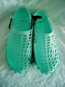 Athletic Works Women's Caged Water Shoe Size 9/10 Mint Green Beach Clog NEW