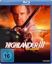 Highlander III: The Sorcerer 3 (1994) Christopher Lambert | New | Blu-ray