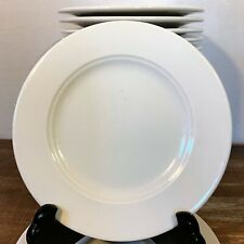 BREAD PLATE Lot: 4 HOMER LAUGHLIN White SEVILLE Lead Free GLAZE Restaurant Ware