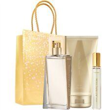 AVON ATTRACTION für Sie/for her Eau de Parfum Spray EdP 50 ml 4 tlg. Geschenkset