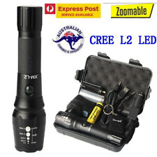 20000lm X800 Shadowhawk Rechargeable Tactical Flashlight CREE L2 LED Zoom Torch