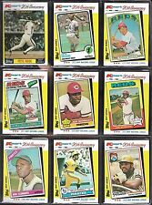 Topps Kmart 20th Anniversary Baseball Card Lot of 9 Pete Rose Johnny Bench