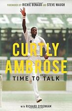 New listing Curtly Ambrose: Time to Talk By Curtly Ambrose, Richard Sydenham