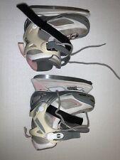 New listing Girls Bladerunner Dazzle Pink Gray Ice Skates Adjustable Us Sz 11 -1 Eu 29 - 32