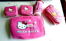 Tupperware Hello Kitty Lunch Set Bag Backpack Tumbler  Cup