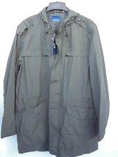 Cole Haan men's Cotton/Nylon Anorak coat with High-Low Hem sz XL style 535AC107
