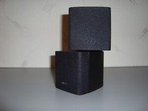 BOSE Doppelcube Lautsprecher schwarz  Lifestyle & Acoustimass NEU in OVP