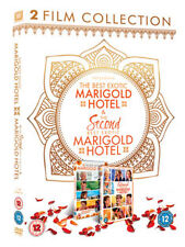 DVD:THE SECOND BEST EXOTIC MARIGOLD HOTEL - 1 TO 2 BOXSET - NEW Region 2 UK