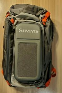 Simms Waypoints Lightweight Shoulder Sling Pack Fly Fishing Tackle And Gear Bag