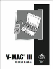 Mack Truck V-MAC III Service, Repair, Shop, Manual, Revised October 2008 8211
