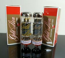 PLATINUM Matched Pair (2) Genalex Gold Lion KT77 tubes - Russia