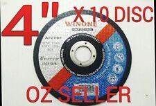 "10pc x 4"" (100 x 1x 16mm) Metal Cut Disc Wheel / CutOff steel cut off wheel"