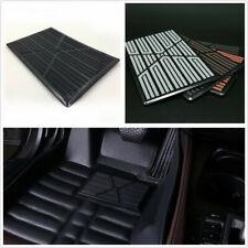 Black DIY High Quality PVC Autos Floor Mat Carpet Cushion Antiskid Pad Universal