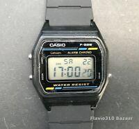 Rare 1988 CASIO F-88W (593) Digital Retro Classic 33mm watch  New Band & Battery