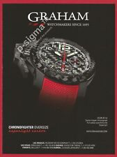 GRAHAM Hyperlight Carbon watch Print Ad