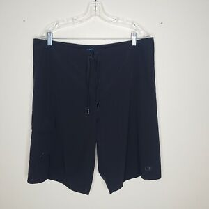 OP Opflex 4 Way Stretch Mens Black Surfer Surfing Swimming Board Shorts Size 36