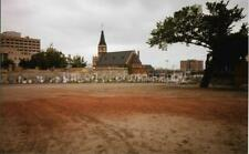 FOUND PHOTO Oklahoma City Bombing Aftermath MAKESHIFT MEMORIAL Color 99 5 V
