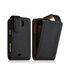 Case Cover Case for Samsung Galaxy Mini s5570 Black+Protection Film