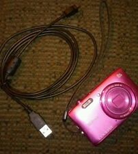 Nikon Coolpix S3600 Digital Camera - Pink w/ 2 Batteries and Charger