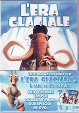 L'era Glaciale 1 & 2 Dvd Sigillato