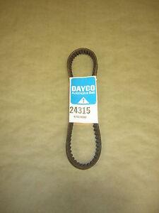 Dayco 24315 Belt  John Deere 55 Combine 1954-1969 Nash Standard 1927-1928
