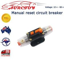 12V-60V Auto Circuit Breaker 60A Manual reset For Car sound Vehicle electrical