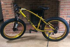 Fat Bike, Mountain Bike/Bicycle, Fat Tire/Tyre - Suspension in Gold