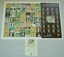 AUSTRALIA HAND SIGNED RECORD 12 TEST WINS PRINT PONTING WARNE GILCHRIST WAUGH