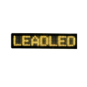 23CM 12v LED Car Sign Remote Control  Display Board Scrolling Programmable Text