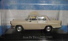 Siam Di Tella 1500 year 1960  Diecast Autos Inolvidables scale  1:43  Argentina